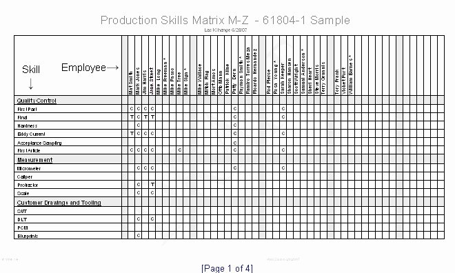 Skills Matrix Template Excel Awesome Skills Matrix Template Excel Skill Matrix Templates Station