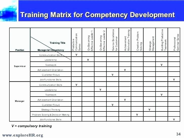 Skills Matrix Template Excel Inspirational 96 Training Matrix Excel Employee Skills Matrix Short
