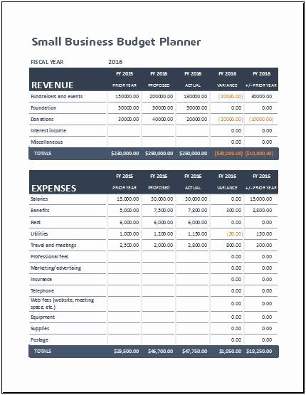 Small Business Budget Template Best Of Small Business Bud Planning Sheet for Ms Excel