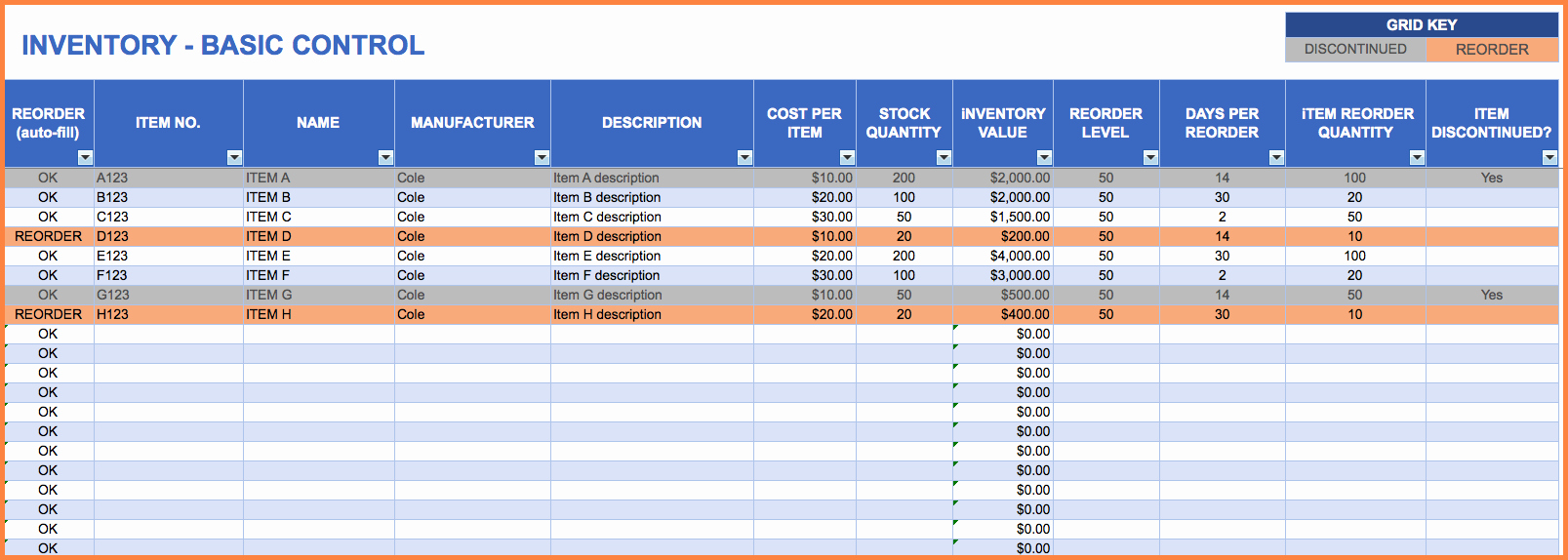 Small Business Inventory Spreadsheet Template Beautiful 3 Small Business Inventory Spreadsheet Template