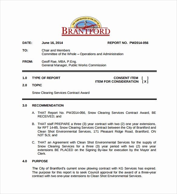 Snow Removal Contract Template New 7 Snow Plowing Contract Templates to Download for Free