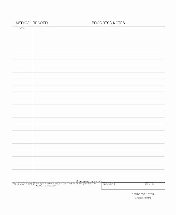Soap Note Template Pdf Lovely Blank soap Note – Ivanparada