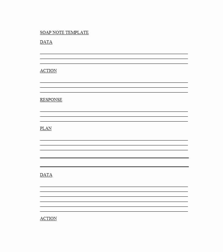 Soap Note Template Word Fresh 40 Fantastic soap Note Examples & Templates Template Lab