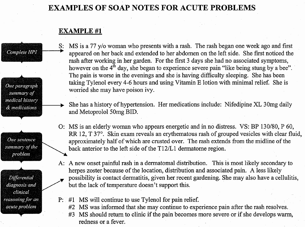 Soap Progress Notes Template Lovely What is A soap Note
