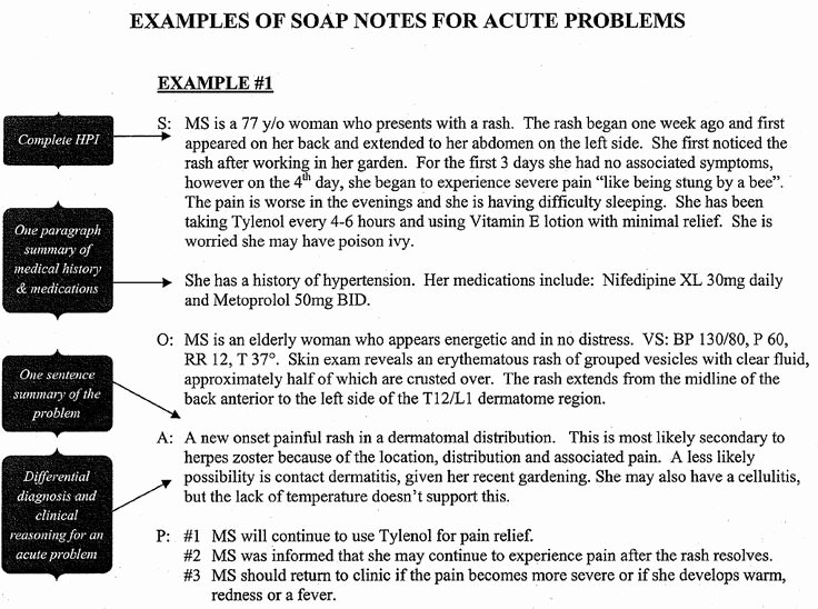 Soap therapy Note Template Inspirational Sample Occupational therapy soap Note Google Search