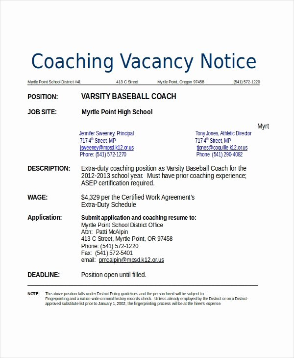 Soccer Coach Resume Template Best Of 10 Coach Resume Templates Pdf Doc