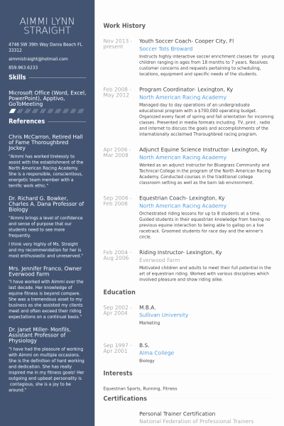 Soccer Coach Resume Template Best Of 27 Of soccer Resume Template for Microsoft Word