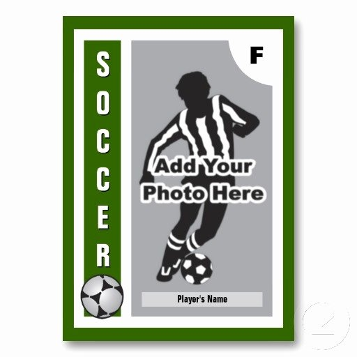 Soccer Player Cards Template Beautiful 33 Best soccer Cards Images On Pinterest