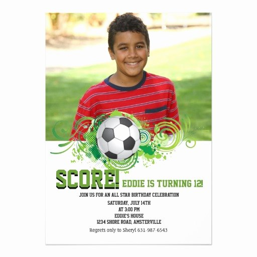 Soccer Player Cards Template Beautiful Printable Birthday Invitations for Free