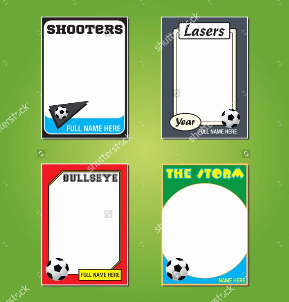 Soccer Player Cards Template Elegant 33 Trading Card Template Word Pdf Psd Eps