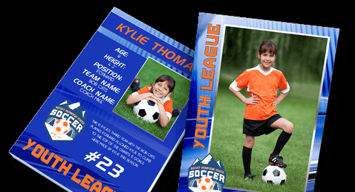 Soccer Player Cards Template Luxury Print Custom Trading Cards Baseball Cards Sports Cards