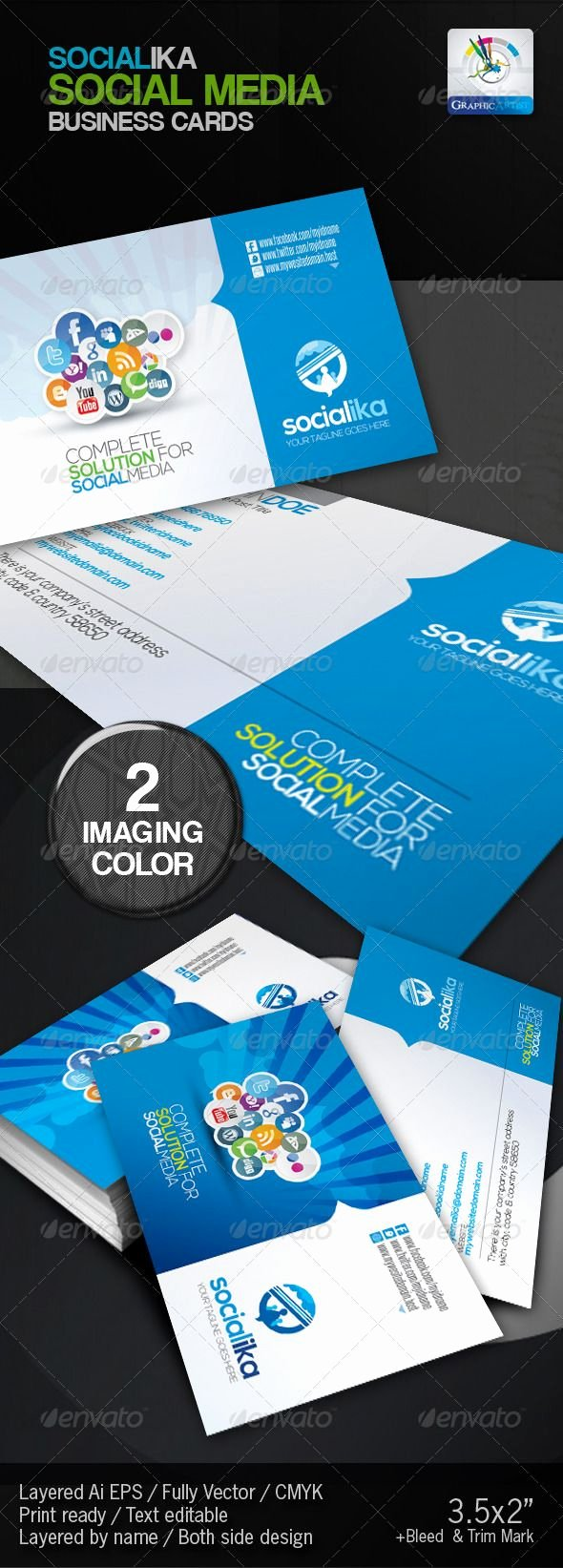 Social Media Business Card Template Awesome 36 Best Images About Corporate Newsletters Email Blasts