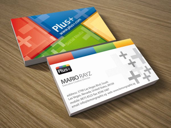 Social Media Business Card Template Beautiful 13 social Media Business Card Templates Psd Word Ai