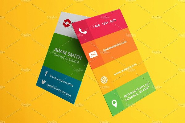 Social Media Business Card Template Elegant 39 social Media Business Card Templates Free & Premium