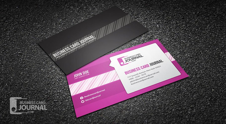 Social Media Business Card Template Fresh Free Creative Speech Bubble Business Card Template