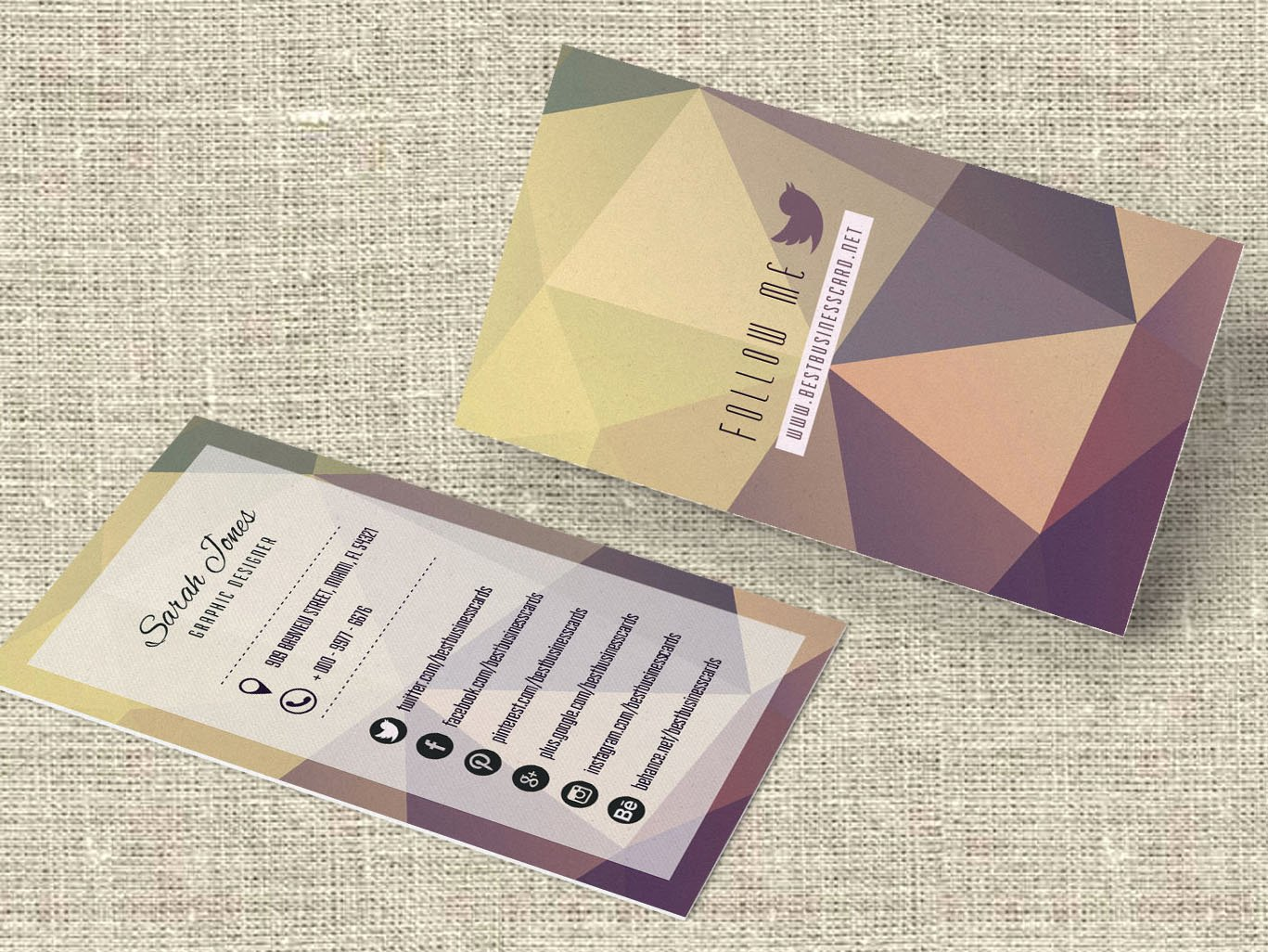 Social Media Business Card Template Luxury 3 Free social Media Business Cards