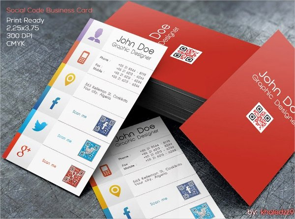 Social Media Business Card Template Unique 36 Modern Business Card Templates Pages Psd Word Ai