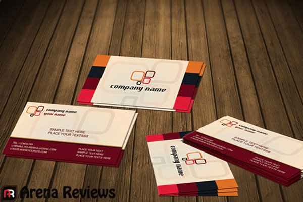 Social Media Business Cards Template Awesome 13 social Media Business Card Templates Psd Word Ai