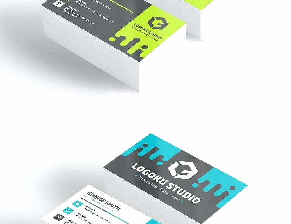 Social Media Business Cards Template Elegant Business Card Template with social Media Icons Card