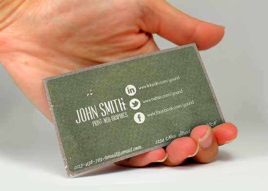 Social Media Business Cards Template Elegant social Media Business Cards 20 Creative Examples