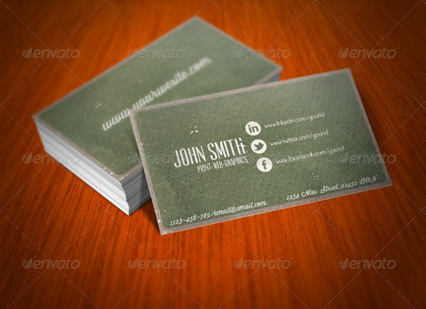 Social Media Business Cards Template Luxury 13 social Media Business Card Templates Psd Word Ai