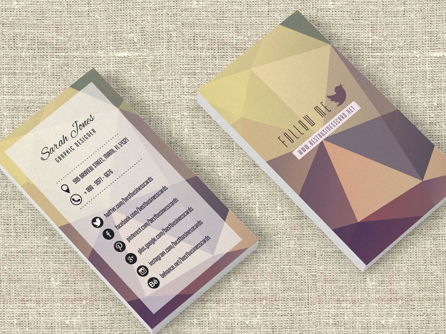 Social Media Business Cards Template Luxury 3 Free social Media Business Cards