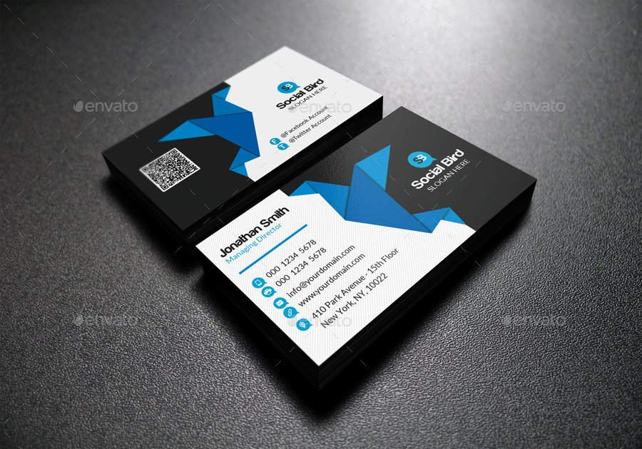 Social Media Business Cards Template New social Media Business Card 72 by Far Star60