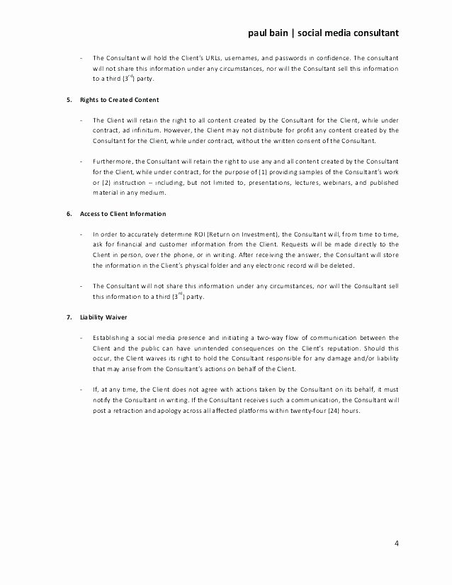 usage rights contract template