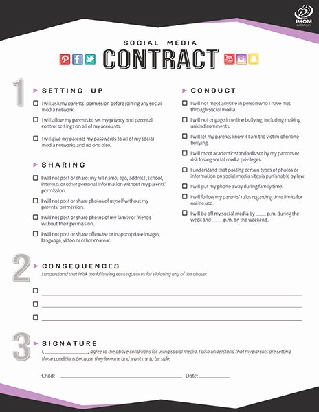 Social Media Marketing Contract Template New [template] social Media Contract Bonsai