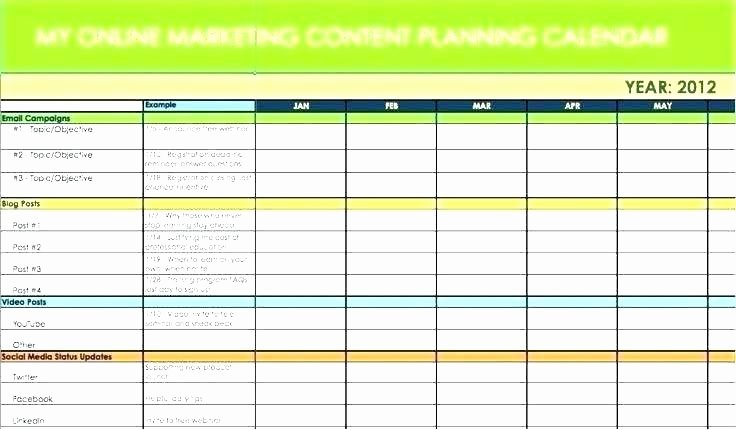Social Media Plan Template Excel Luxury Campaign Schedule Template Unique social Media Campaign
