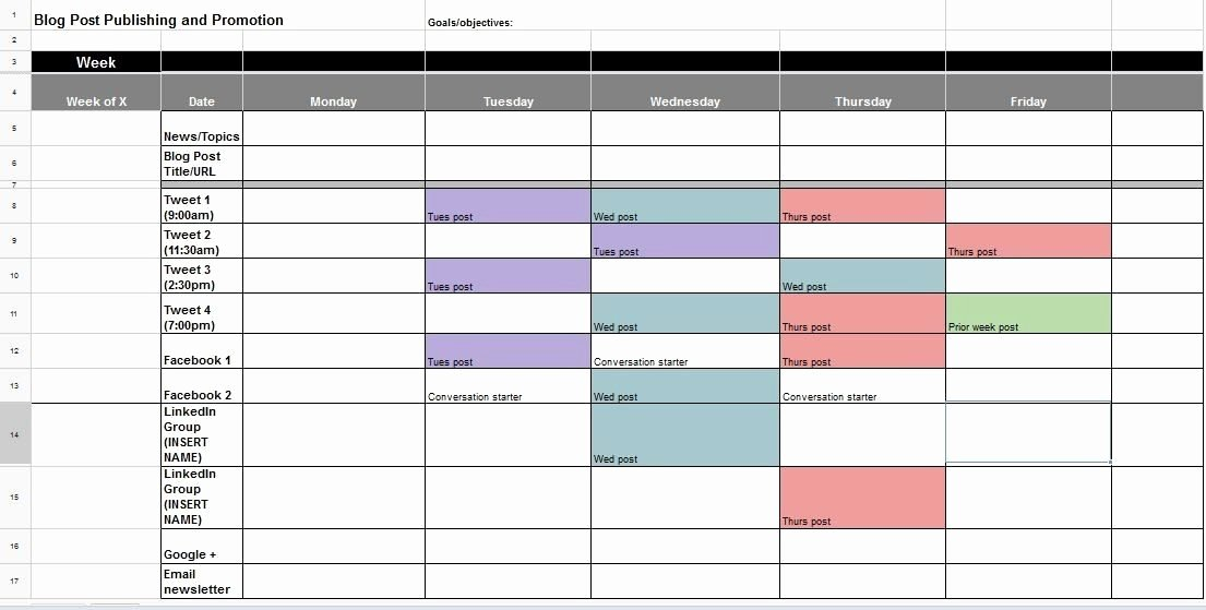 Social Media Post Schedule Template Luxury the Ultimate Guide to Creating Your social Media Calendar
