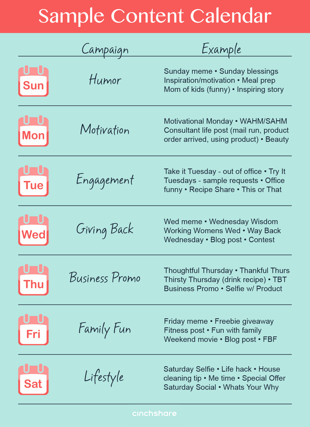 Social Media Post Schedule Template Unique Save Time and Reduce Stress with A Content Calendar