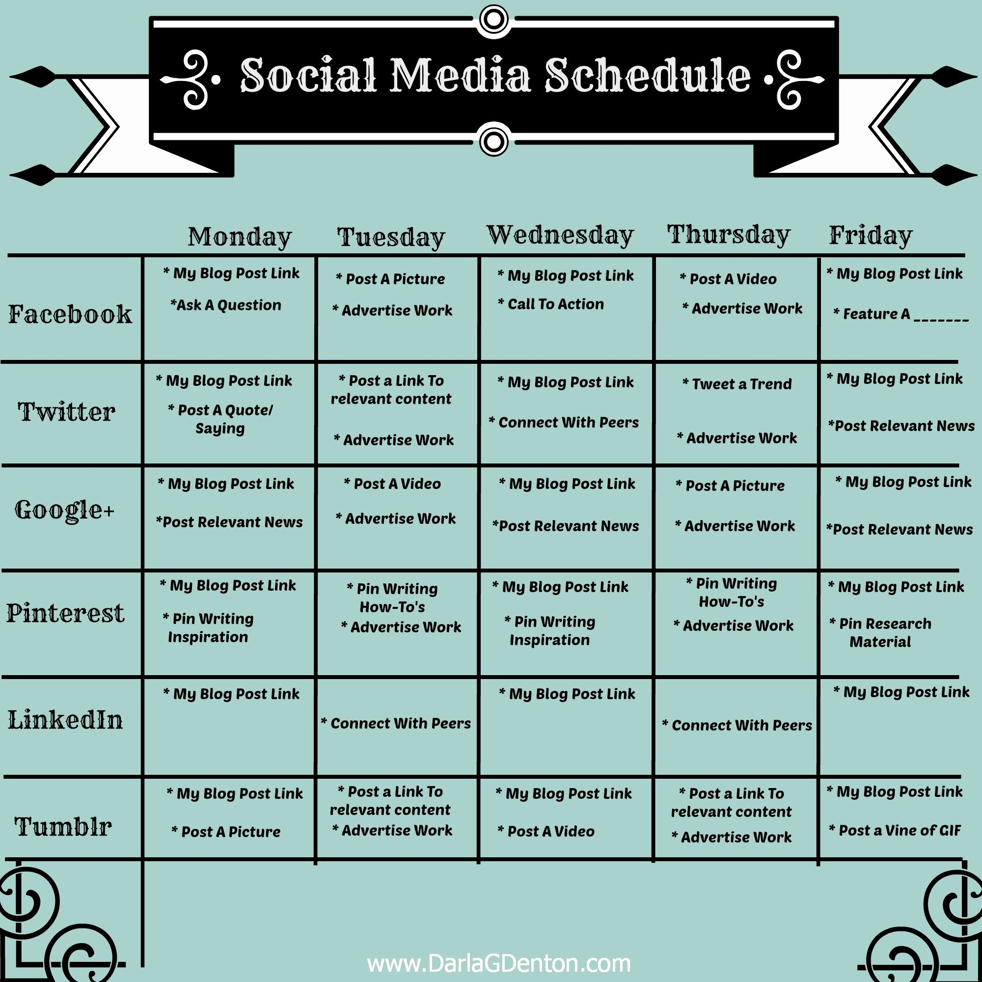 Social Media Posting Schedule Template Best Of Job Search Washington County Pa social Media Dashboards