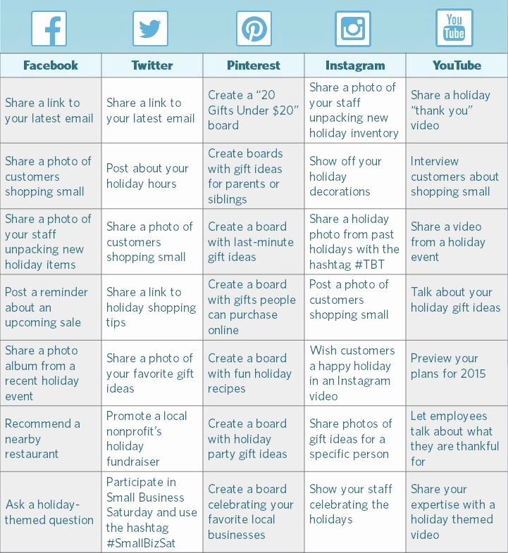 Social Media Posting Schedule Template Luxury How to Create A Holiday social Media Calendar