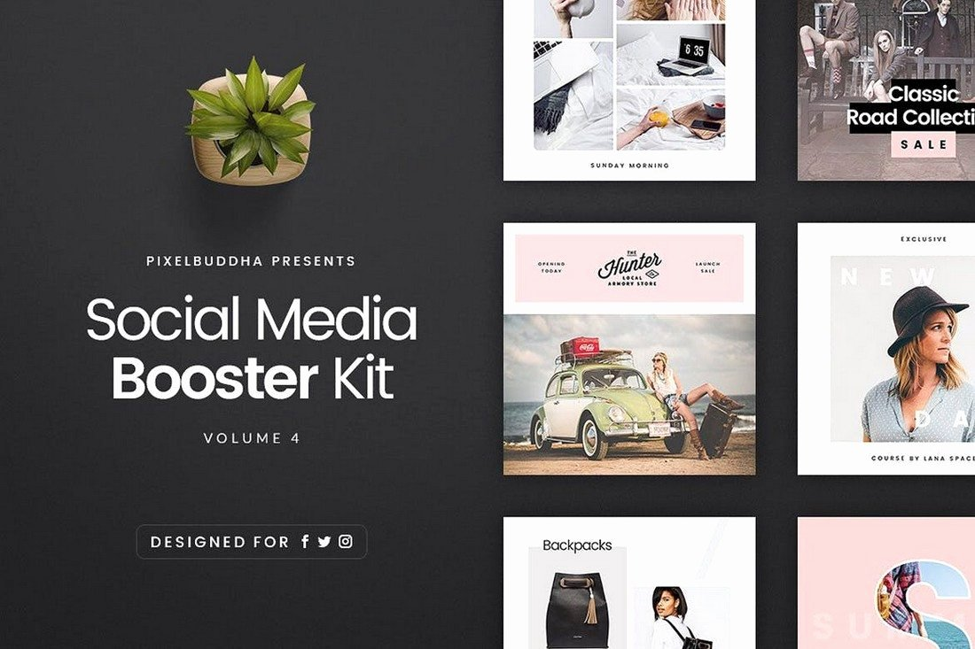 Social Media Posting Template Awesome 20 Best Cover & Post Mockups