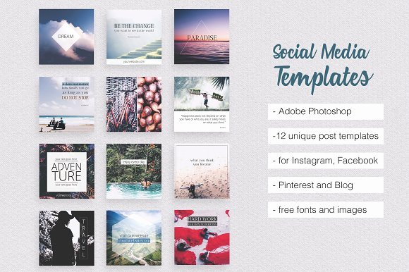 Social Media Posting Template Best Of Creative Idea Free Down Load This Week