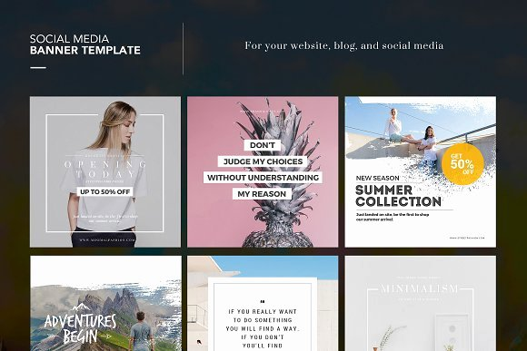 Social Media Posting Template Best Of Step Up Your Instagram Game with these 20 social Media Psd