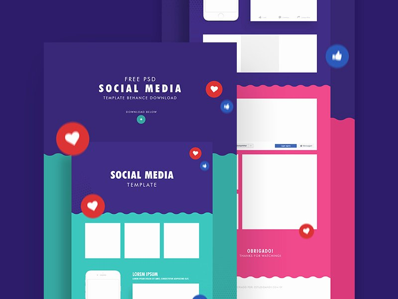Social Media Posting Template Luxury social Media Templates – & Instagram Mockups