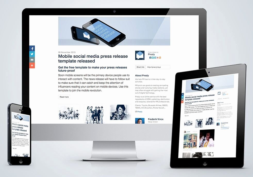 Social Media Release form Template Luxury Press Release Examples Prezly