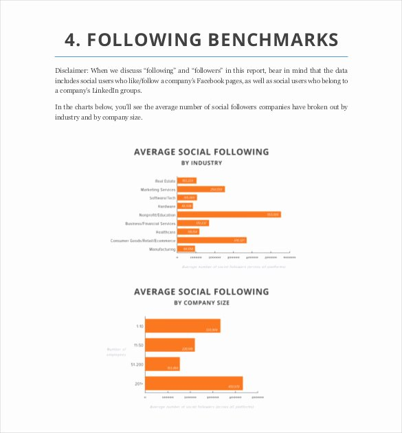 Social Media Reports Template Inspirational social Media Report Template – 11 Free Word Pdf