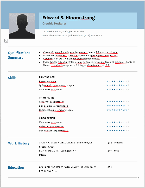 Social Media Resume Template Fresh the 17 Best Resume Templates for Every Type Of Professional