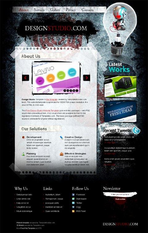Social Media Website Template Lovely 20 Free Web Icons Template social Media Website