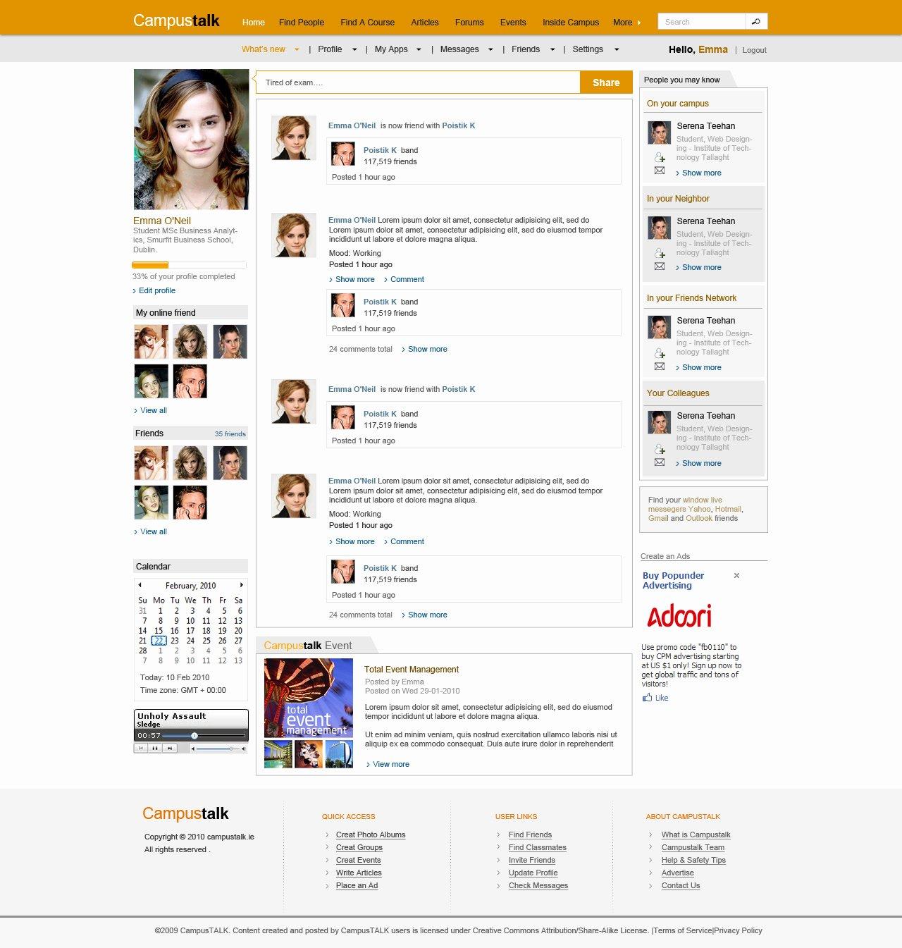 Social Network Website Template Best Of social Network Website Templates Frompo 1