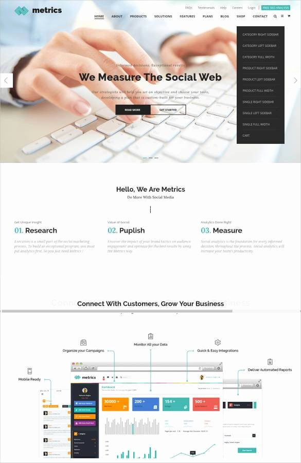 Social Networking Web Template New 24 social Media Website themes & Templates