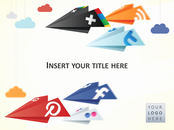 Social Networking Web Template New social Networking Powerpoint Template