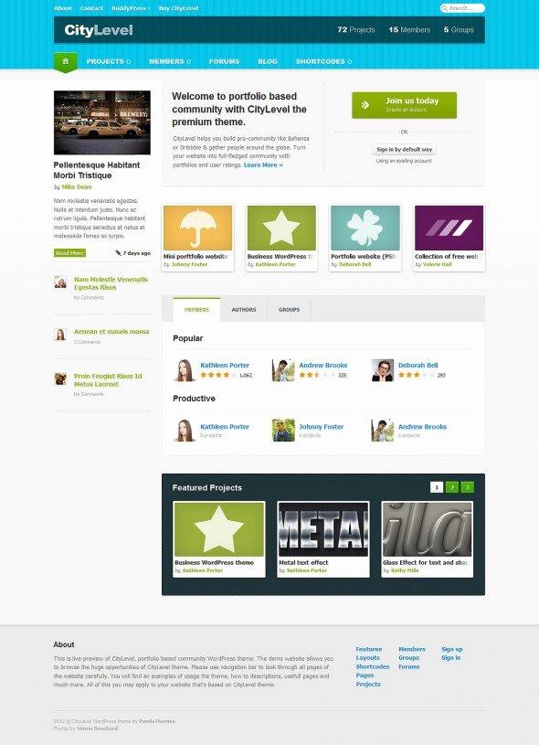 Social Networking Web Template Unique Бесплатные Psd шаблоны сайтов