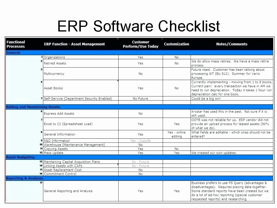 Software Comparison Template Excel Awesome software Evaluation Matrix Template Excel Vendor
