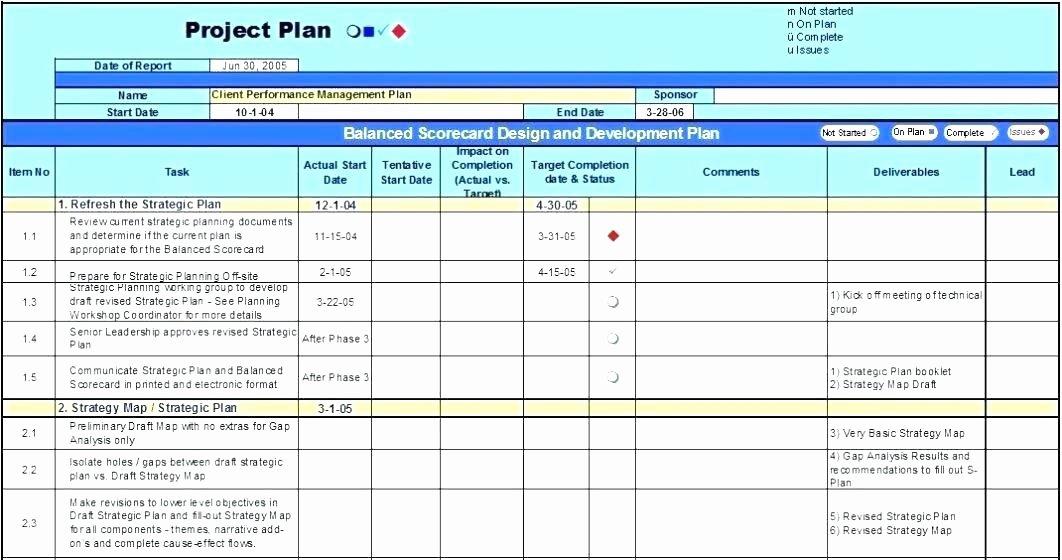 Software Development Project Plan Template Fresh software Project Plan Template Excel software Project Plan