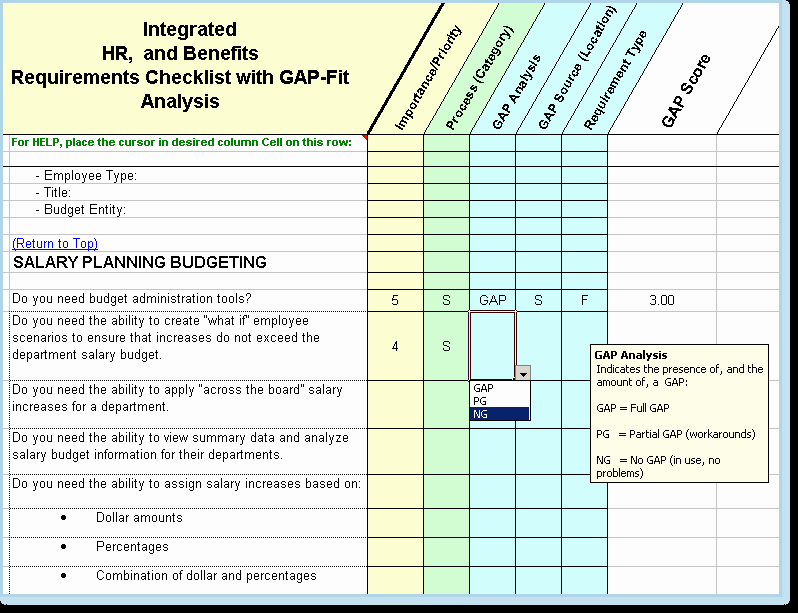 Software Gap Analysis Template Beautiful Pretty software Requirements Template Free