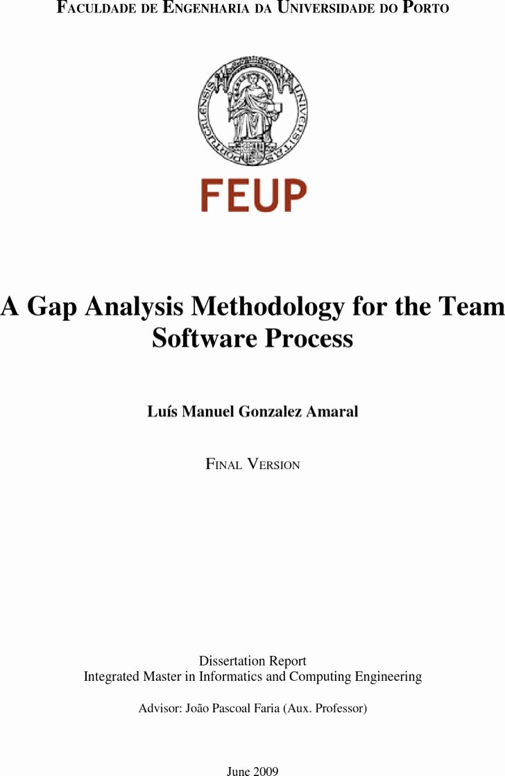 Software Gap Analysis Template Inspirational 4 software Gap Analysis Templates Free Download